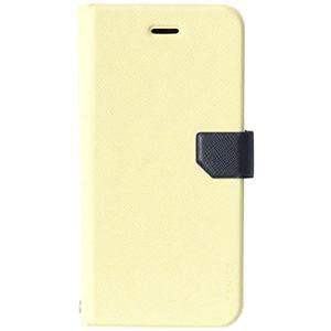 オウルテック iPhone6用 手帳型ケース (カードポケット付) アイボリー OWL-CVIP49IVN