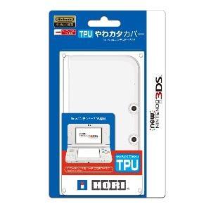 ホリ TPUやわカタカバー for Newニンテンドー3DS  3DS-219