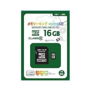 ニチガン メモリーキングmicroSD (16GB) NGMCSDH16GCL10