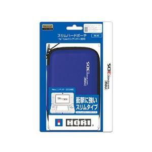 ホリ スリムハードポーチ for New3DS ブルー 3DS-217