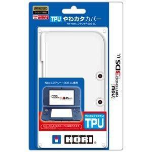 ホリ (New3DS LL)TPUやわカタカバー for Newニンテンドー3DS LL