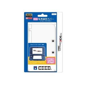 ホリ シリコンもちはだカバー for New3DSLLホワイト 3DS-430