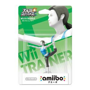 任天堂 amiibo Wii Fitトレーナー(大乱闘スマッシュブラザーズシリーズ) NVL-C-AAAH