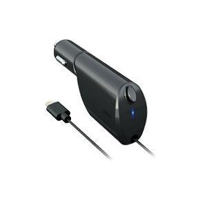 ラディウス AL-CCR11 iPhone/iPad対応 Lightningケーブル直結リールタイプ 2.4A出力 過電流保護装置