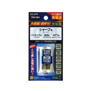 ELPA 電話子機用充電池 TSA-004