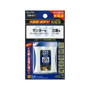 ELPA 電話子機用充電池 TSA-011