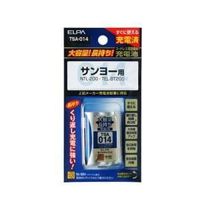 ELPA 電話子機用充電池 TSA-014