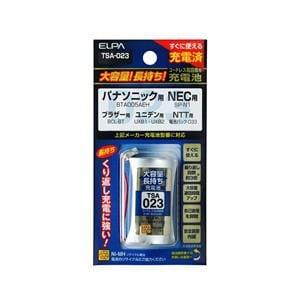 ELPA 電話子機用充電池 TSA-023