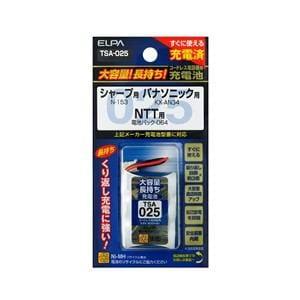 ELPA 電話子機用充電池 TSA-025