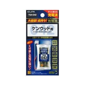 ELPA 電話子機用充電池 TSA-042