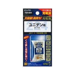 ELPA 電話子機用充電池 TSA-224
