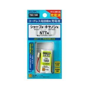 ELPA 電話子機用充電池 TSC-180