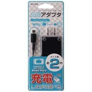 アローン (Wii U)WiiU GamePad用 ACアダプタ ブラック