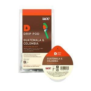 UCC DRIP POD抽出機専用 グァテマラ&コロンビア 8P DPGC001