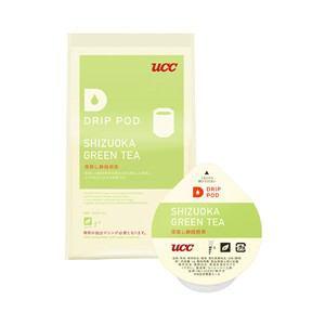 UCC DRIP POD抽出機専用 深蒸し静岡煎茶 8P DPGT001