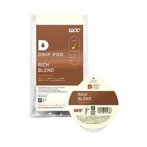 UCC DRIP POD抽出機専用 鑑定士の誇りリッチブレンド 8P DPRB001