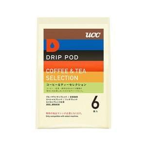 UCC DRIP POD抽出機専用 コーヒー&ティーセレクション 6P DPTS001