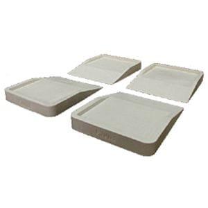 ハマダプレス hmd-7010 冷蔵庫キズ凹み防止ゴムマット(4個入)