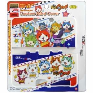 プレックス 妖怪ウォッチ new NINTENDO 3DS専用 カスタムハードカバー カラフル YW-41A