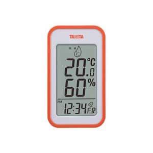 タニタ 温湿度計(オレンジ) TT-559-OR