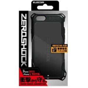 876b980bbb エレコム PM-A15ZEROBK iPhone 6s / 6用ZEROSHOCKケース ブラック ...