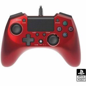 ホリパッドFPSプラス for PlayStation4 レッド PS4-027