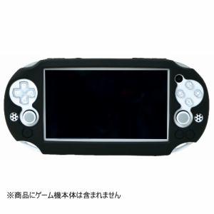 ホリ Newシリコンカバー for PlayStationVita ブラック PSV-135