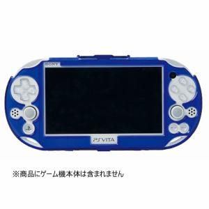 ホリ Newプロテクトフレーム for PlayStationVita CLEAR BLUE PSV-133