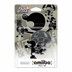 任天堂 amiibo Mr.ゲーム&ウォッチ(大乱闘スマッシュブラザーズシリーズ) NVL-C-AABX(MR.ゲーム&ウォッチ)