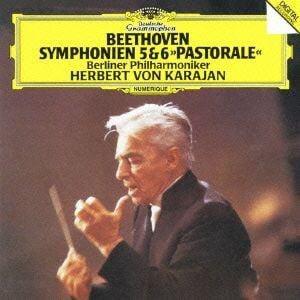 【CD】 カラヤン / ベートーヴェン:交響曲第5番「運命」&第6番「田園」
