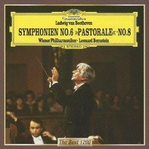 <CD> バーンスタイン / ベートーヴェン:交響曲第6番「田園」、第8番