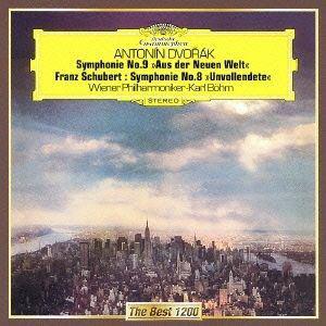 <CD> ベーム / ドヴォルザーク:交響曲第9番「新世界より」、シューベルト:交響曲第8番「未完成」