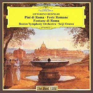 【CD】 小澤征爾 / レスピーギ:交響詩「ローマの松」「ローマの祭り」「ローマの噴水」
