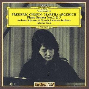 【CD】 アルゲリッチ / ショパン:ピアノ・ソナタ第2番「葬送行進曲」&第3番、他