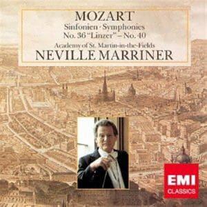 <CD> マリナー / モーツァルト:交響曲第36番「リンツ」&第40番