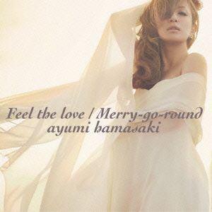【CD】浜崎あゆみ / Feel the love/Merry-go-round(DVD付)