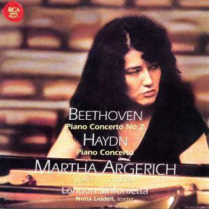 <CD> アルゲリッチ / ベートーヴェン:ピアノ協奏曲第2番&ハイドン:ピアノ協奏曲