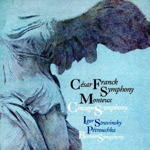 <CD> モントゥー / フランク:交響曲二短調&ストラヴィンスキー:ペトルーシュカ