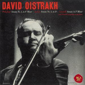 【CD】 オイストラフ / プロコフィエフ:ヴァイオリン・ソナタ第1番、ルクレール&ロカテッリ:ヴァイオリン・ソナタ