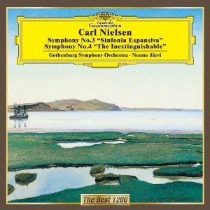<CD> ヤルヴィ / ニールセン:交響曲第3番「広がりの交響曲」&4番「不滅」