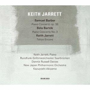 【CD】 キース・ジャレット / バーバー:ピアノ協奏曲/バルトーク:ピアノ協奏曲 第3番 他