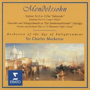 <CD> マッケラス / メンデルスゾーン:交響曲第4番、真夏の夜の夢(抜粋)
