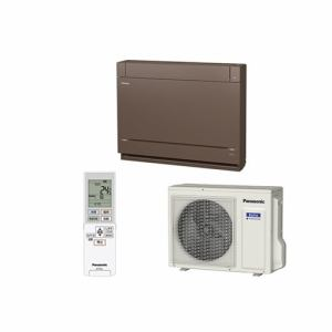 【標準工事代込】パナソニック CS-409CY2-T 床置きエアコン (14畳用) ブラウン