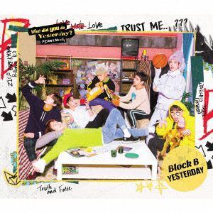 <CD> Block B / Yesterday(Japanese Version)(TYPE-B)(初回限定盤)