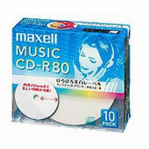 マクセル CDRA80WP10S CD-R8010P