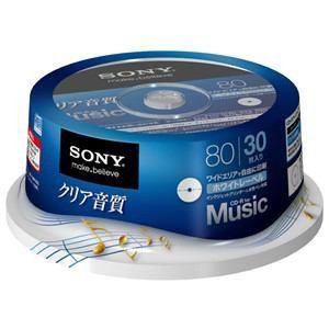 SONY CD-R オーディオ 30CRM80HPWP