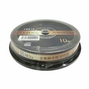 ラディウス RACR70-S10-2132 音楽録音用 CD-R 80分 10枚