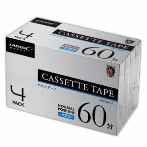 磁気研究所 HDAT60N4P カセットテープ ノーマルポジション 60分 4巻