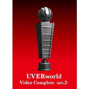 <DVD> UVERworld / UVERworld Video Complete-act.2-(初回生産限定盤)