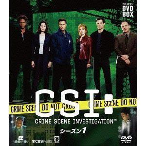【DVD】 CSI:科学捜査班 コンパクト DVD-BOX シーズン1